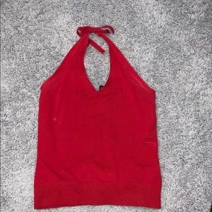 Gap- Red Halter Top